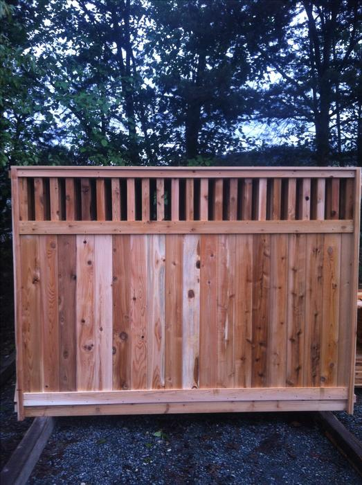 Cedar Quality Fence Panels For Sale Chemainus Cowichan