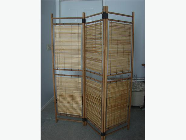 Bamboo Room Screen Excellent Condition moving must go
