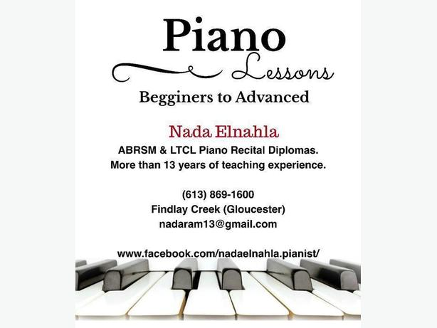 Piano Lessons (in Gloucester)