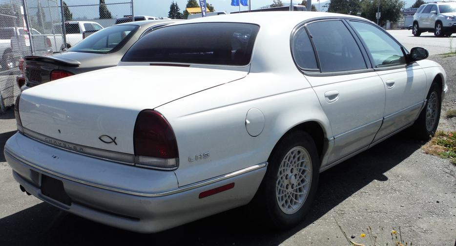 1996 Chrysler Lhs Sedan Outside Victoria Victoria