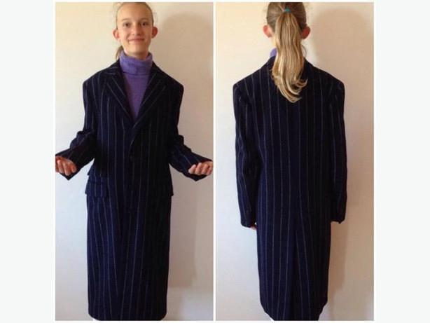 RALPH LAUREN COAT -100%CASHMERE -LADIES SIZE 6
