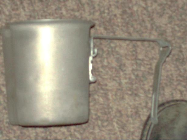ANTIQUE VOLLRATH FOLDING ARMY MUG