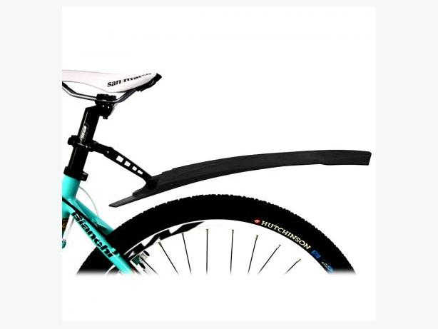 Bicycle Bike Rear Fender Mudguard - Black