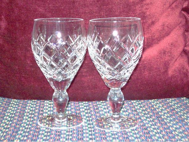 24% LEAD CRYSTAL WINE GLASSES