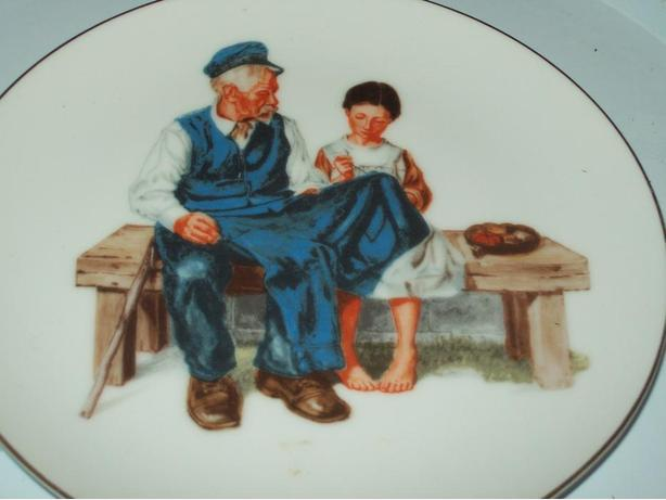 COLLECTOR PLATE LIGHTHOUSE KEEPERS DAUGHTER