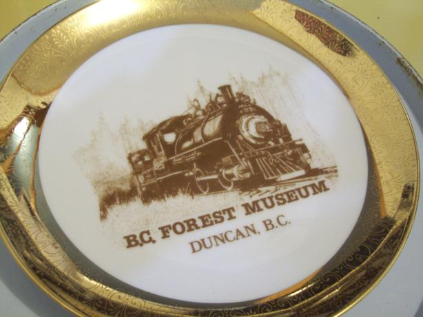 COLLECTOR PLATE DUNCAN FOREST MUSEUM