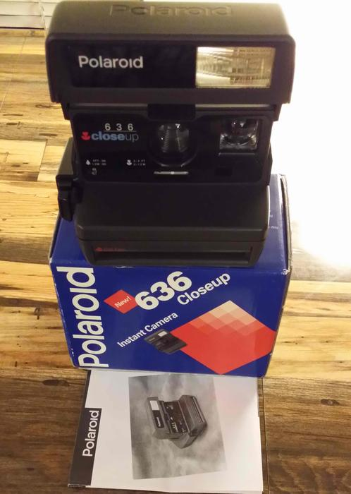 Polaroid 636 close up instant film camera burnaby incl for 636 north terrace mount vernon