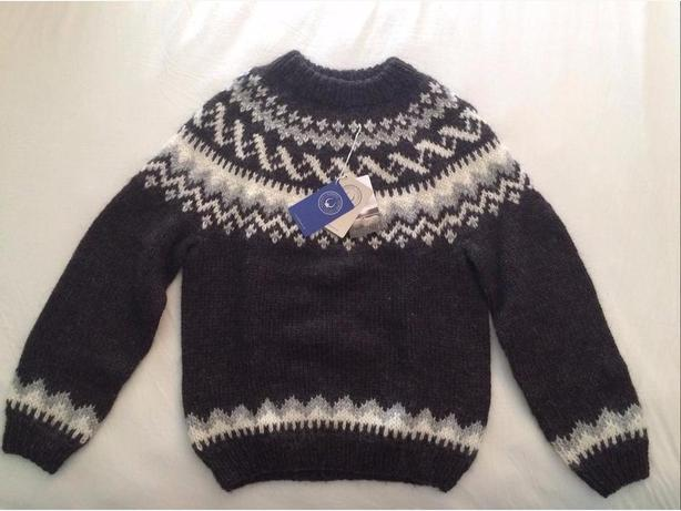 NEW Woolen sweater from Iceland (Never worn!, Men's size)