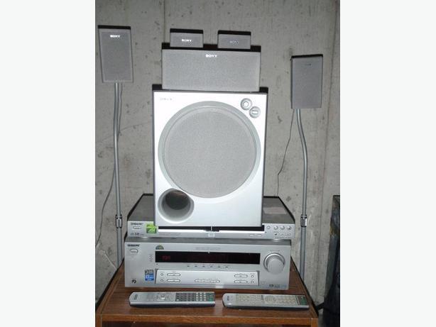 Sony STR-K750P 5.1 Home Theater & DVD DVP-NS125P