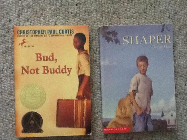 Books: Bud, Not Buddy and Shaper