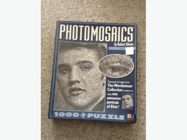 ELVIS Photomosaic puzzle