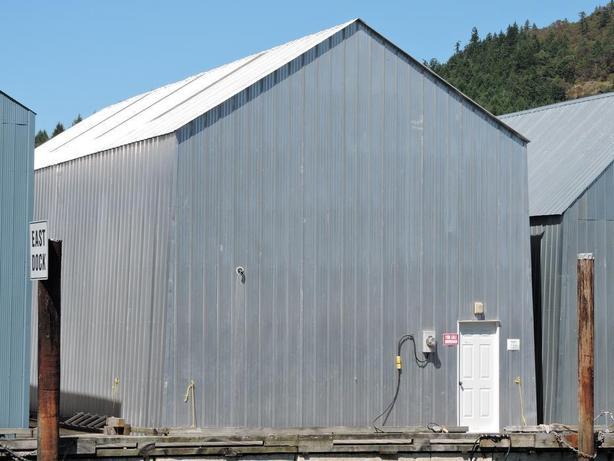 Boathouse in Genoa Bay