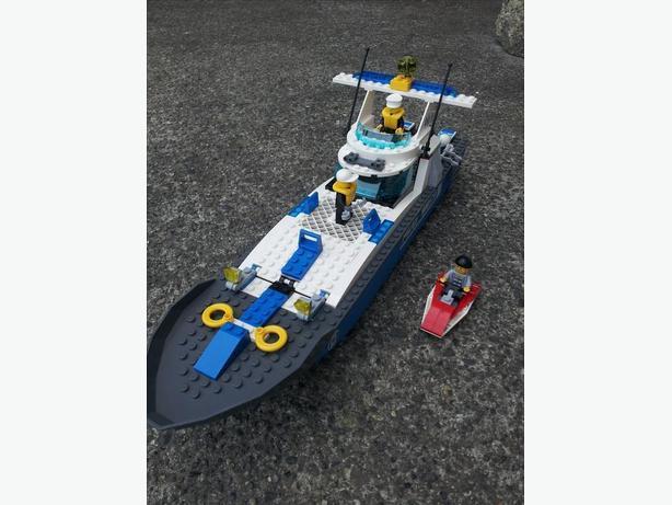 lego police boat 7287 instructions