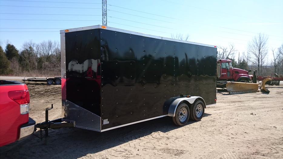 South cargo enclosed 7x16 7 39 high new 2016 buckingham for 7 summerland terrace