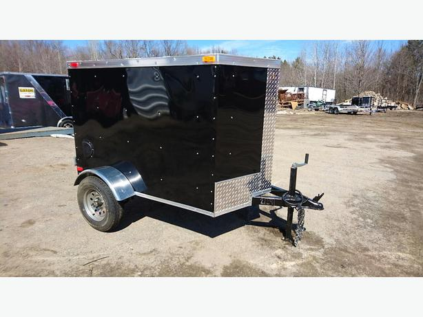 NEW 4X6 ENCLOSED CARGO TRAILER