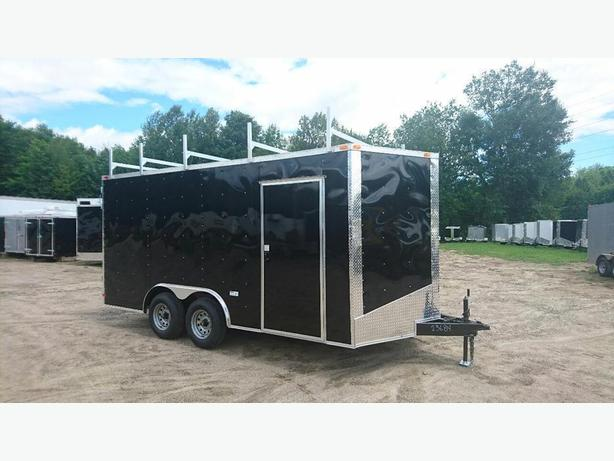 NEW SOUTH CARGO 8,5X 16 + V NOSE TRAILERS