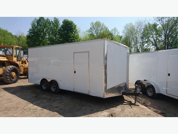 BEST PRICE ON 8,5 X 20FT V NOSE CARGO TRAILERS