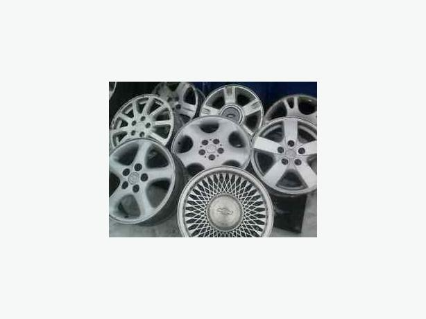 "RARE FIND **** 5X110 GM 16"" ALLOYS ON WINTER PKG !"