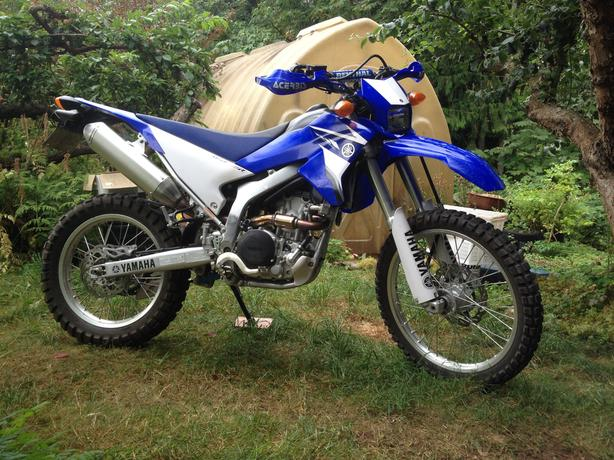 2008 yamaha wr250r for sale trade outside victoria victoria for Yamaha wr250r for sale