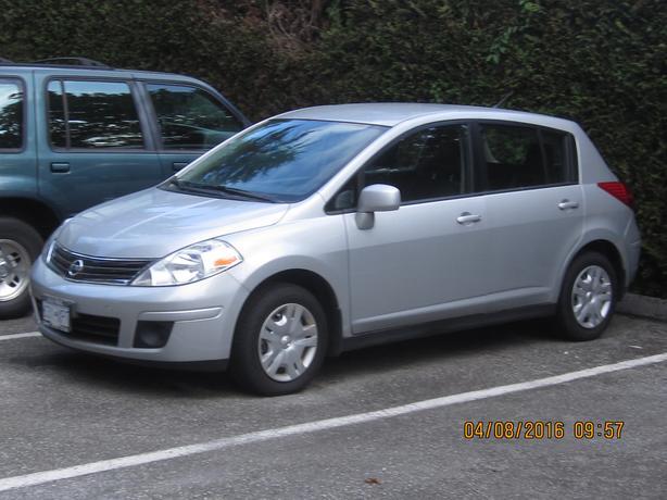 2012 Nissan Versa 1.8 S Sedan