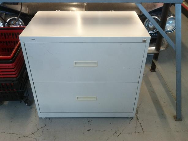 2 Drawerr Lateral File Cabinet
