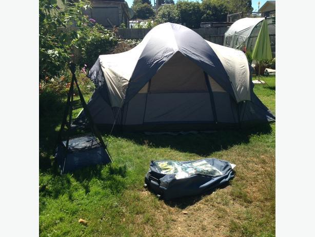 Tent & air mattress
