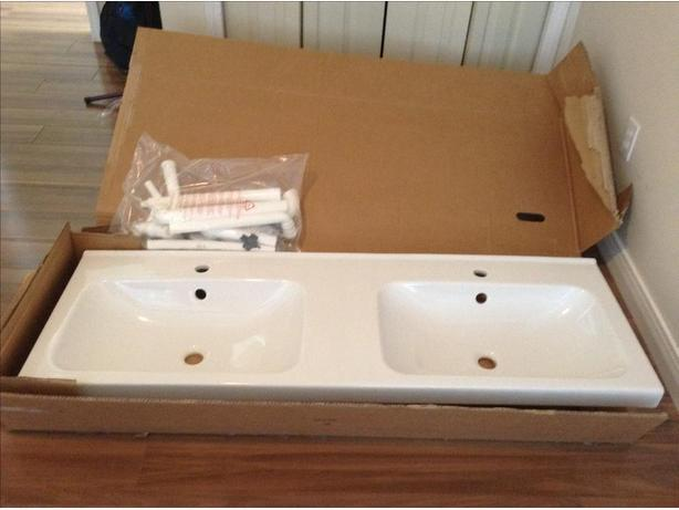 Gentil IKEA Odensvik Double Sink NEW