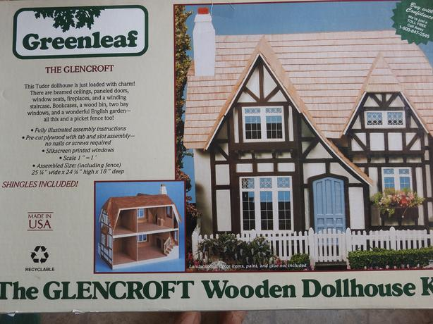 The GLENCROFT wooden doll house by Greenleaf