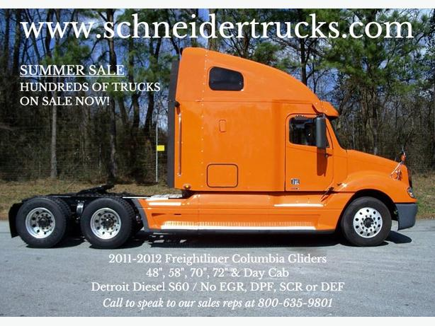 2011 & 2012 Freightliner Columbia Glider Kits For Sale