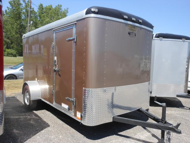 NEW 2015 Continental Cargo Elite 6 x 12 Cargo Trailer #7653