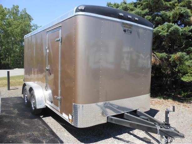 NEW 2016 Continental Cargo Tail Wind 7 x 14 Cargo Trailer #0281