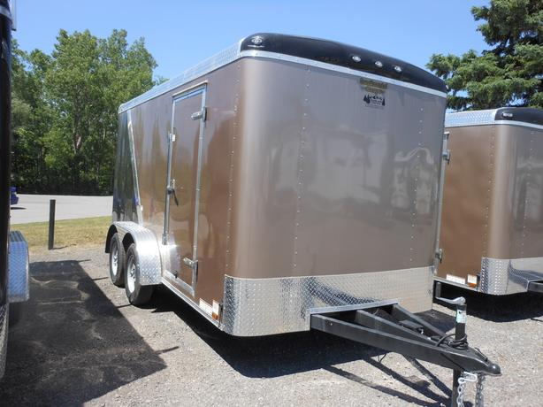 NEW 2017 Continental Cargo Tail Wind 7 x 14 Cargo Trailer #2451