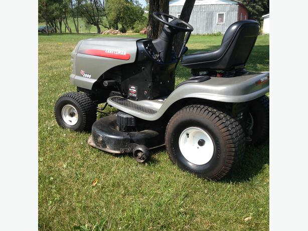 Used Craftsman Tractor Seat : Craftsman lt riding mower sault ste marie