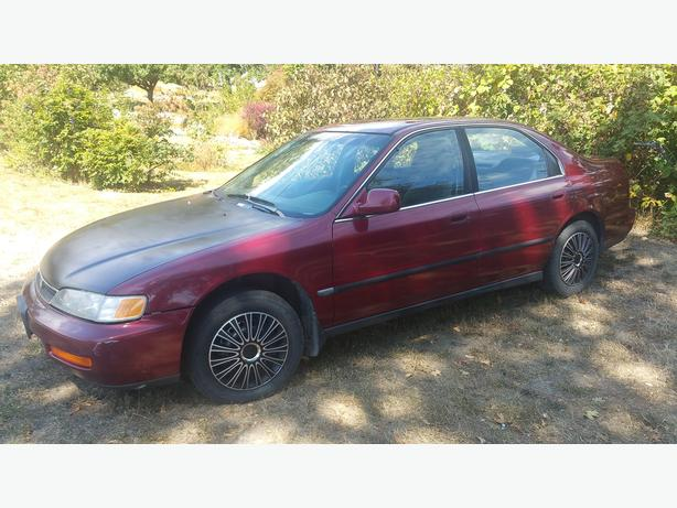 Honda accord 1996 4 cyl automatic saanich victoria for Used car commercial 1996 honda accord