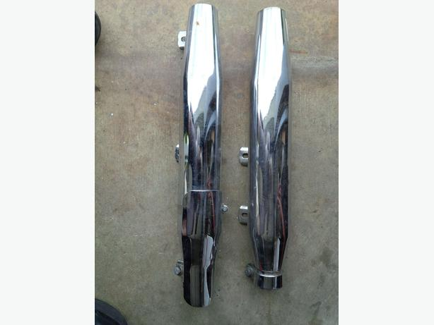 1996 Harley Davidson SOFTAIL EXHAUST PIPES Excellent Shape