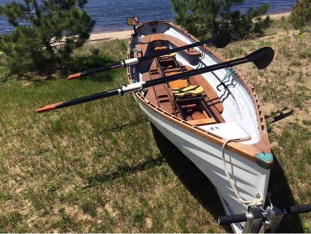 Classic Whitehall Spirit® 17 Double Slide Seat Sculling Rowboat
