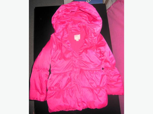 Children's Place - Girls Pink Puffer Jacket 5/6