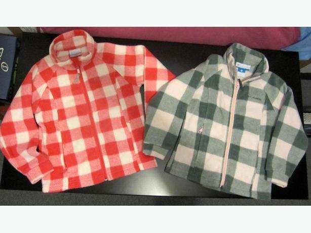 Girls Columbia Fleece Jackets - 6/6X