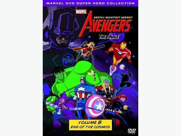 The Avengers: Earth's Mightiest Heroes Vol 6 2 Discs DVD