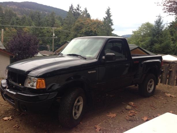 2000 Ford Edge Ranger Step-side
