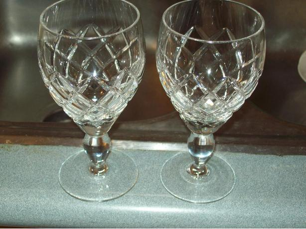 24% LEAD CRYSTAL WINE GLASSES
