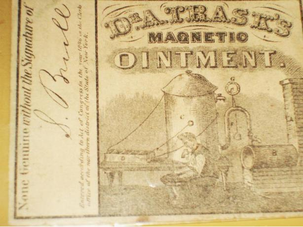 DR. TRASK'S MAGNETIC OINTMENT LABEL