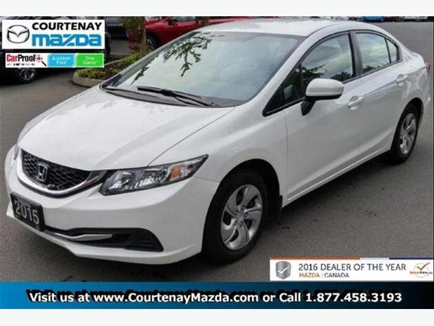 2015 Honda Civic Sedan LX 5MT