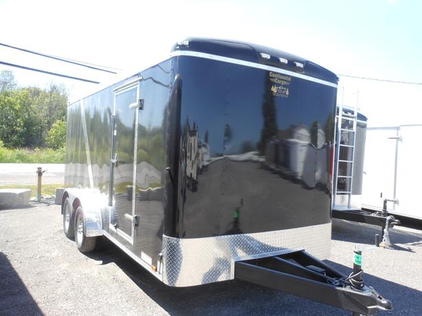 NEW 2017 Continental Cargo Tail Wind 7 x 16 Cargo Trailer #2449