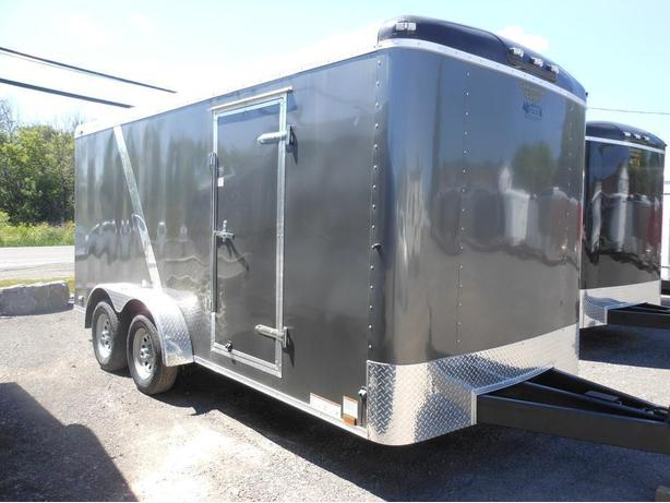 NEW 2017 Continental Cargo Tail Wind 7 x 16 Cargo Trailer #2450