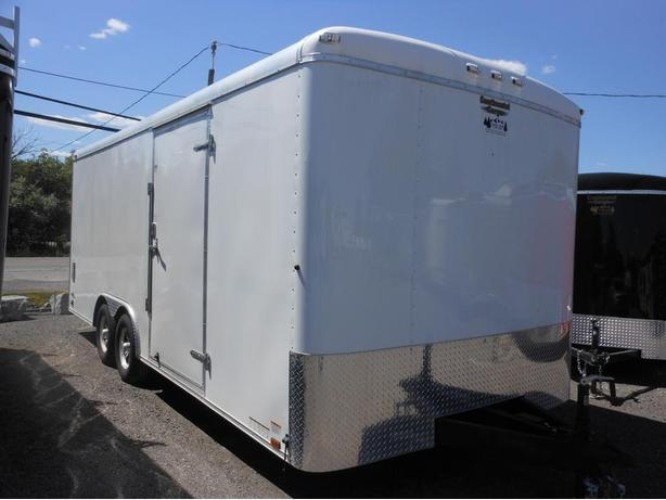 NEW 2016 Continental Cargo Automaster 8.5 x 20 Car Hauler Trailer #0901