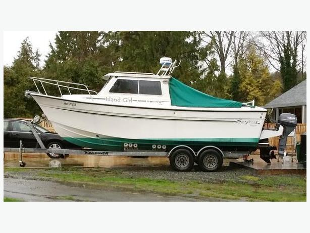 Sport Fishing Boat & Trailer for Sale - 2008 Sea West - Island Girl