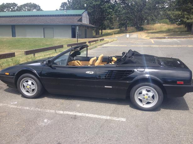 1985 ferrari mondial convertible outside metro vancouver vancouver mobile. Black Bedroom Furniture Sets. Home Design Ideas
