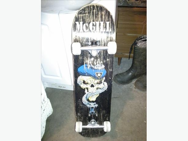 Vintage 1990s Mike McGill Skateboard