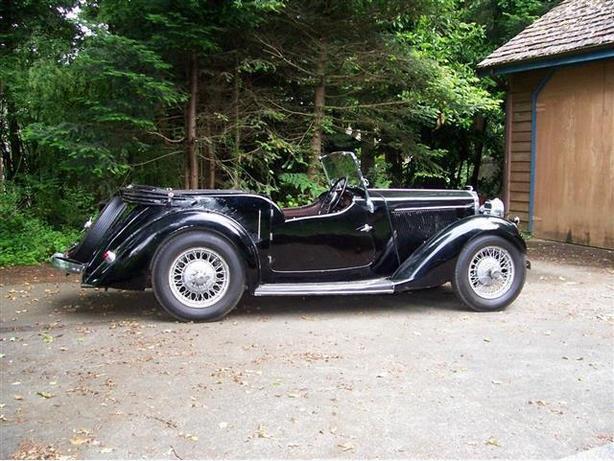1936 Talbot Ten 4 Seat Tourer